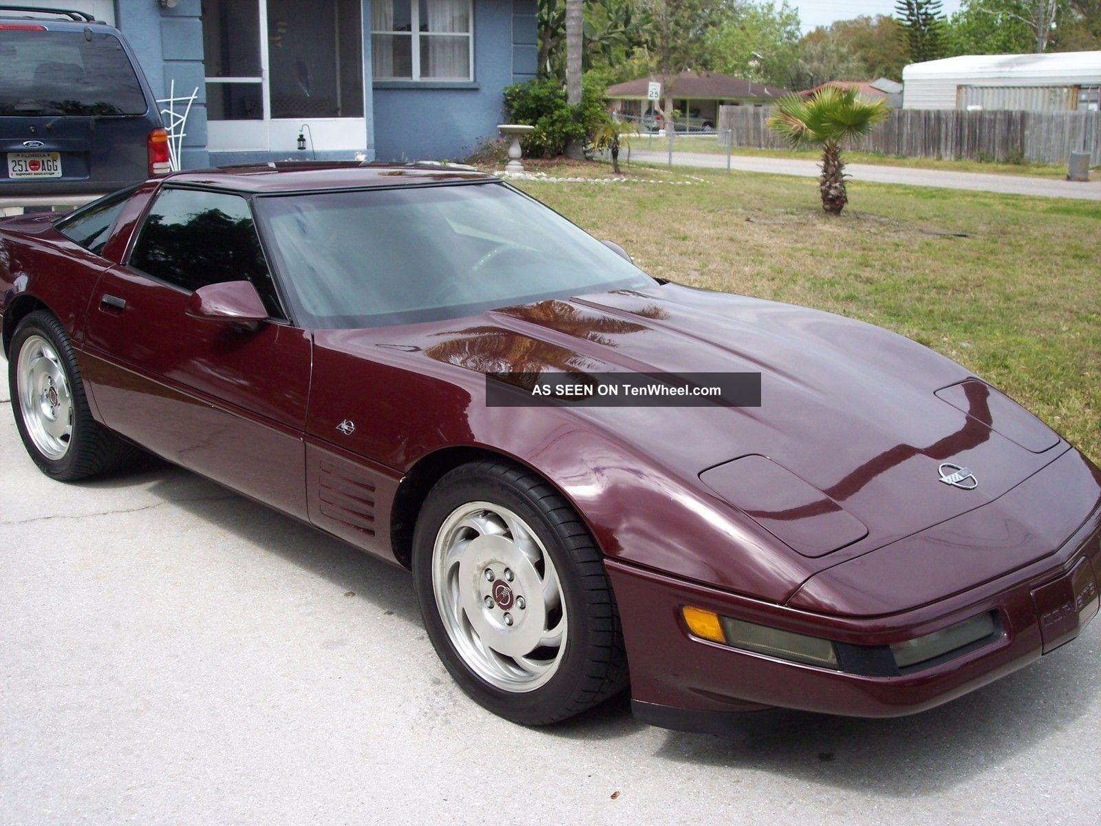 1993 40th Anniversary Edition Corvette