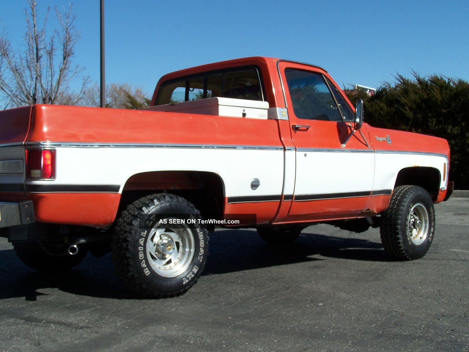 76 chevy pickup