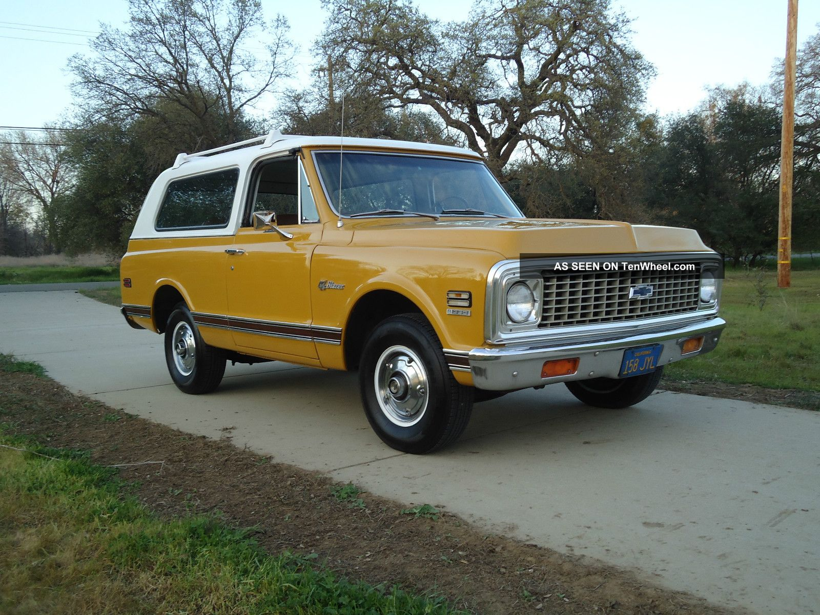 1972 Factory 2 Wheel Drive California Native Chevy Cst Blazer