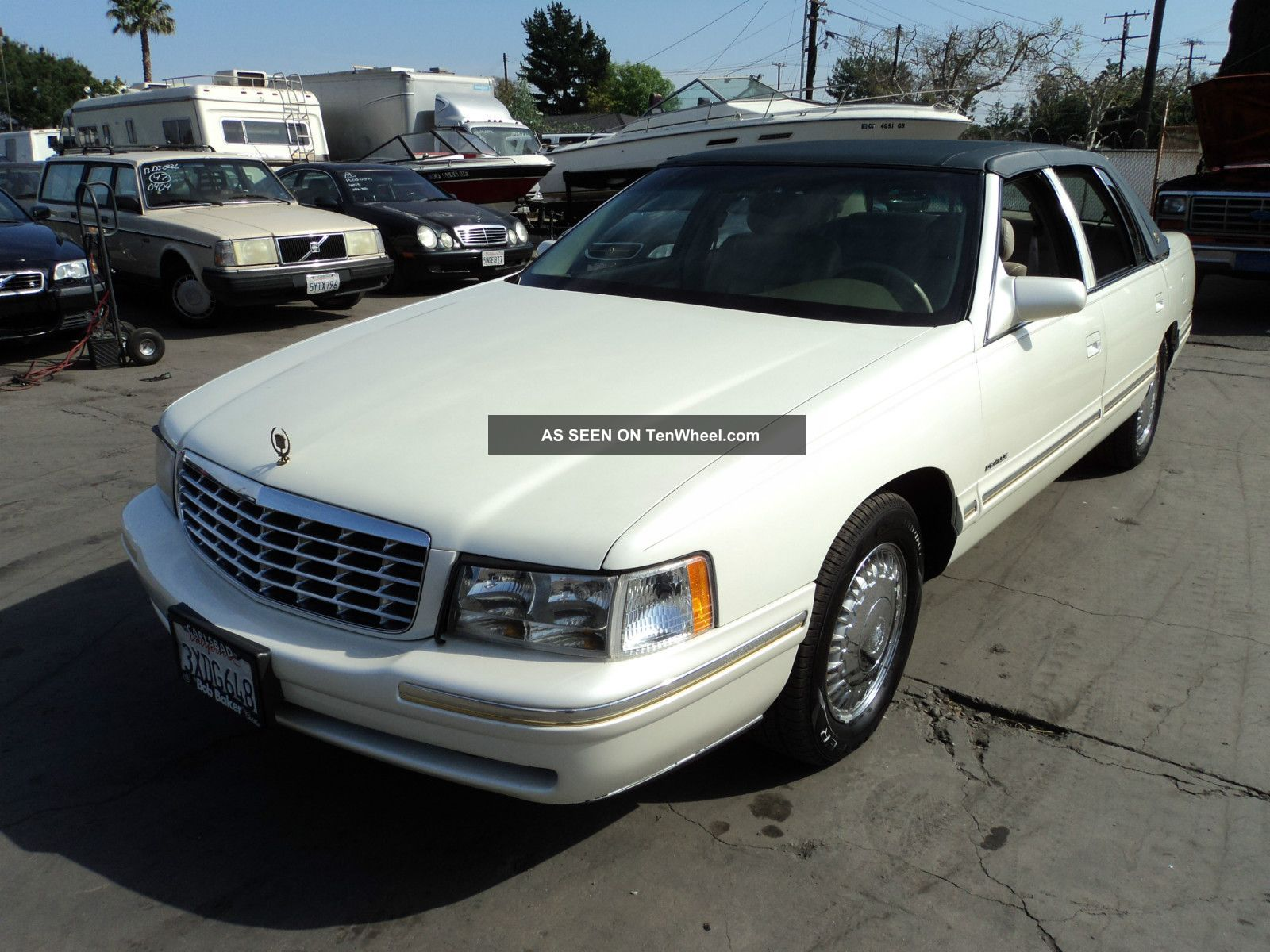 1998 cadillac deville d 39 elegance sedan 4 door 4 6l. Cars Review. Best American Auto & Cars Review