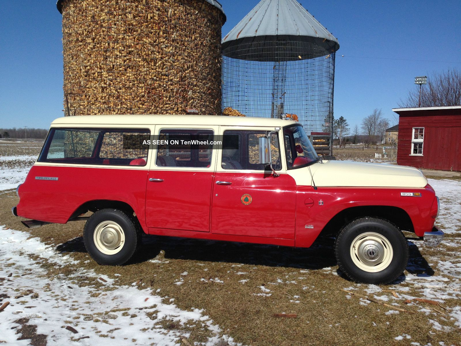 1968 International Harvester Travelall Show Quality