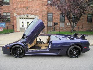 2001 Lamborghini Diablo Vt Cadillac V8 Professionally Built W / Video photo