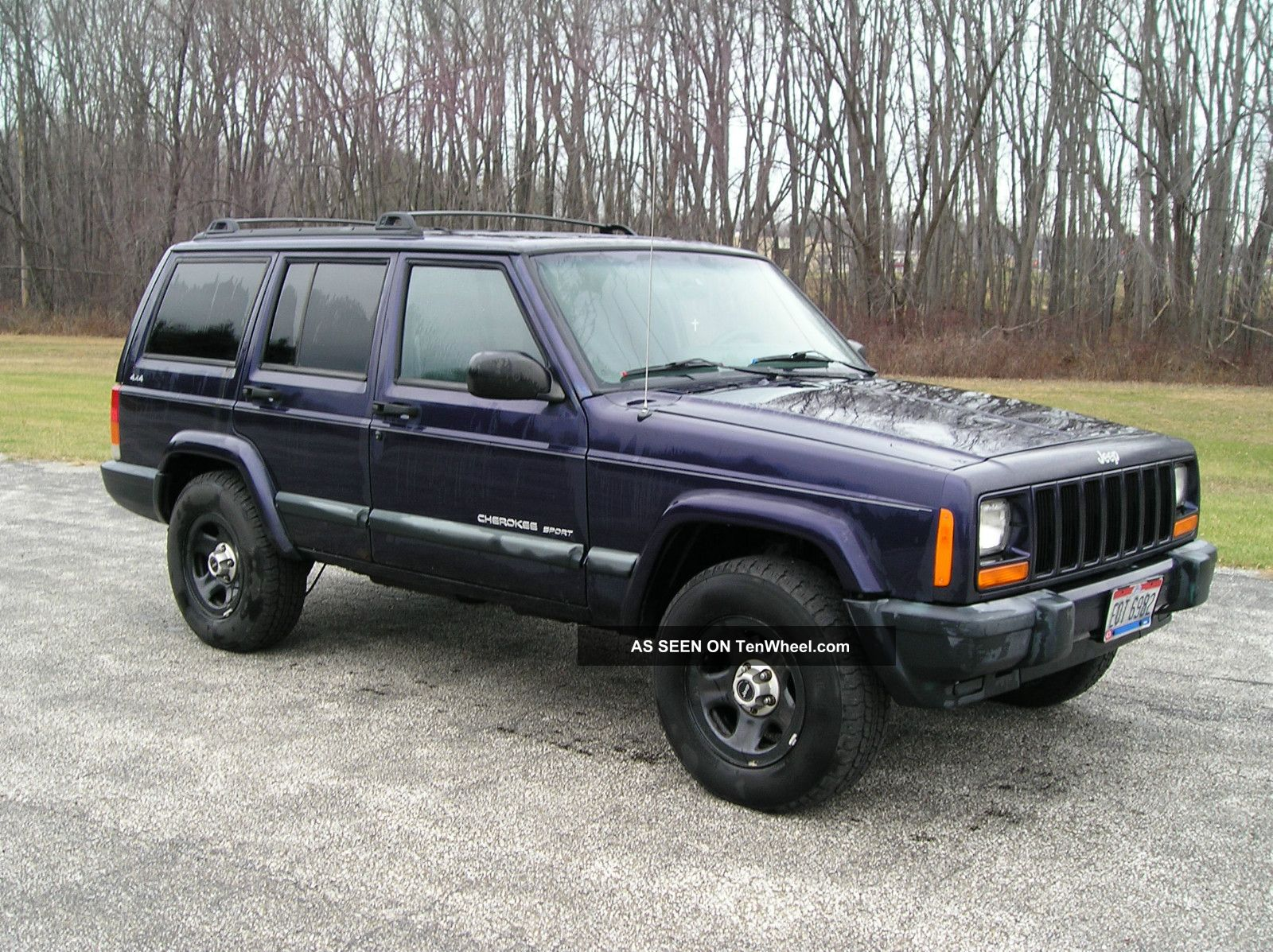 1999 jeep cherokee se sport utility 4 door 4 0l. Black Bedroom Furniture Sets. Home Design Ideas