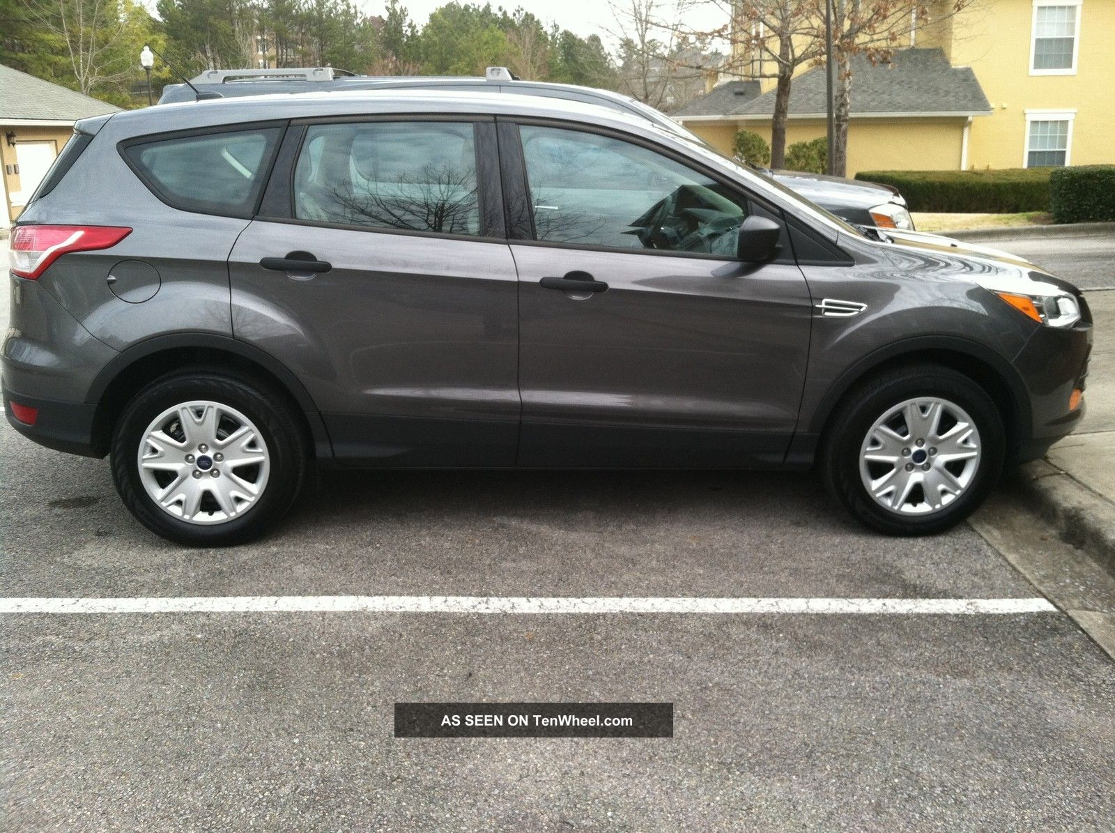 Ford Escape Door Leather