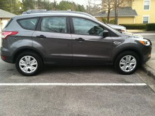 2013 Ford Escape S Sport Utility 4 - Door 2.  5l,  Sterling Gray,  Stone Seats photo