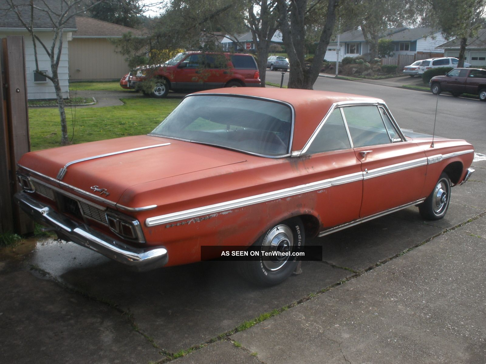 1964 Plymouth Sport Fury Wiring Diagram List Of Schematic Circuit 2001 Chevy Monte Carlo 383 4 Speed Rh Tenwheel Com