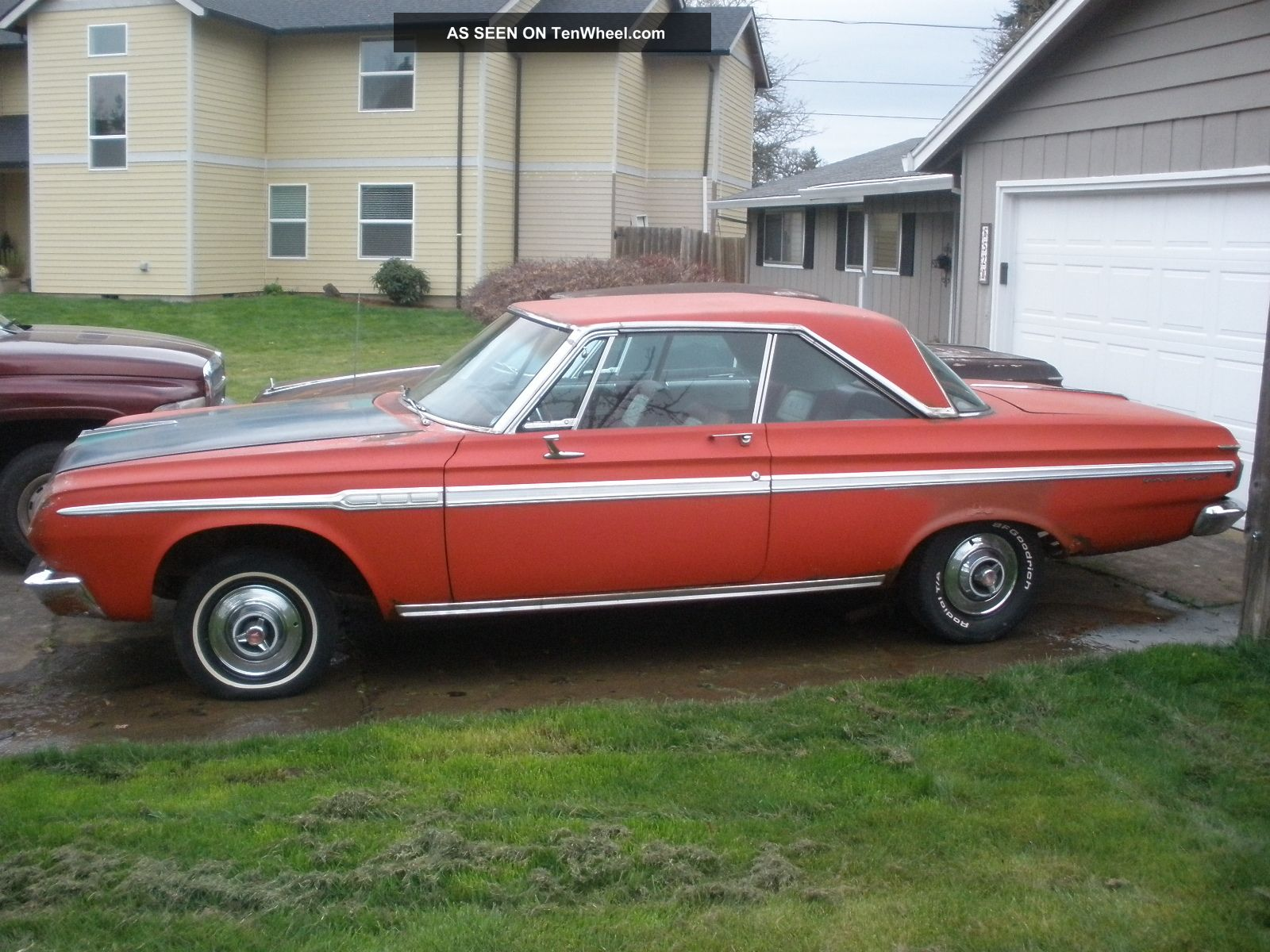 1964 Plymouth Sport Fury 383 4 Speed