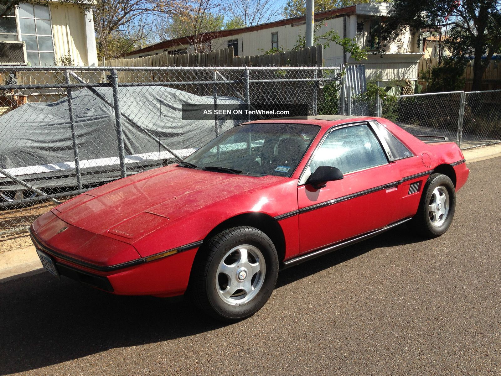 1984 pontiac fiero. Black Bedroom Furniture Sets. Home Design Ideas