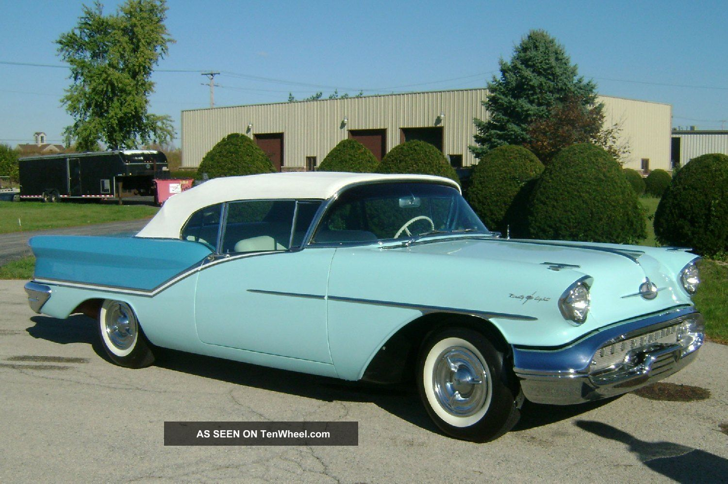 1957 Oldsmobile Starfire 98 Convertible - J2 Tri - Power - Two Tone Blue - Loaded Other photo