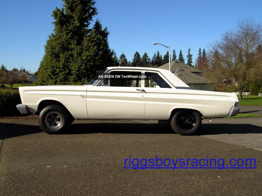 1965 Mercury Comet 202 2 Door Drag Racer Gasser Hot Rod