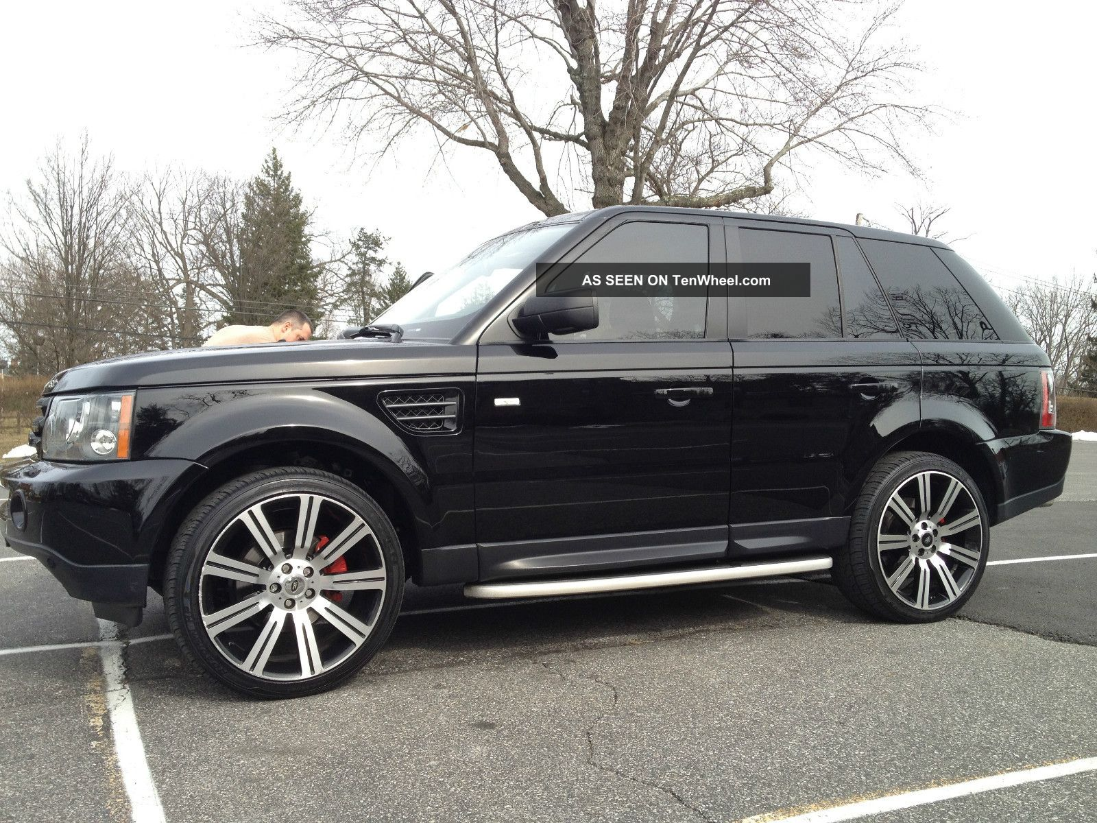 2008 Land Rover Range Rover Sport Hse Sport Utility 4