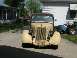 1935 Ford Slant Back Street Rod Project photo