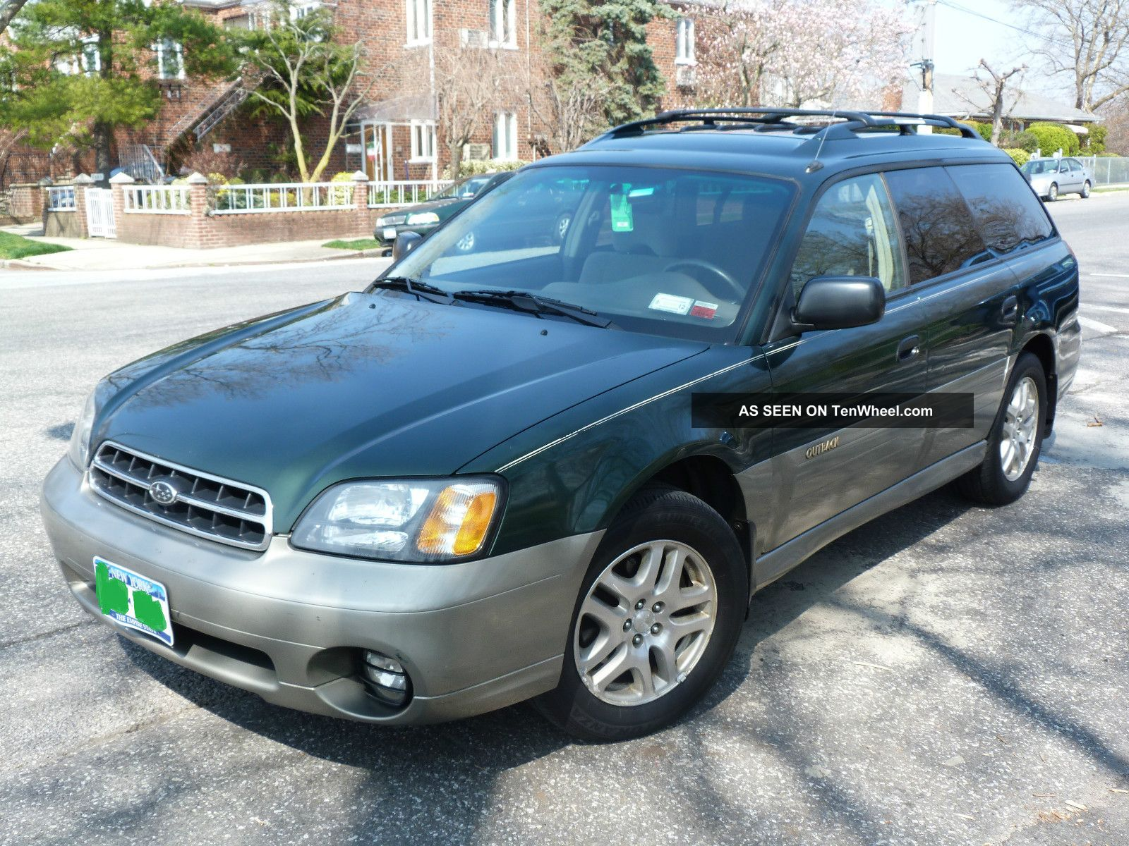 2001 subaru outback very with tires. Black Bedroom Furniture Sets. Home Design Ideas