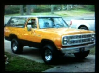 1979 Plymouth Trailduster. . . .  Simialr To Ramcharger,  K10 Blazer,  Power Wagon photo