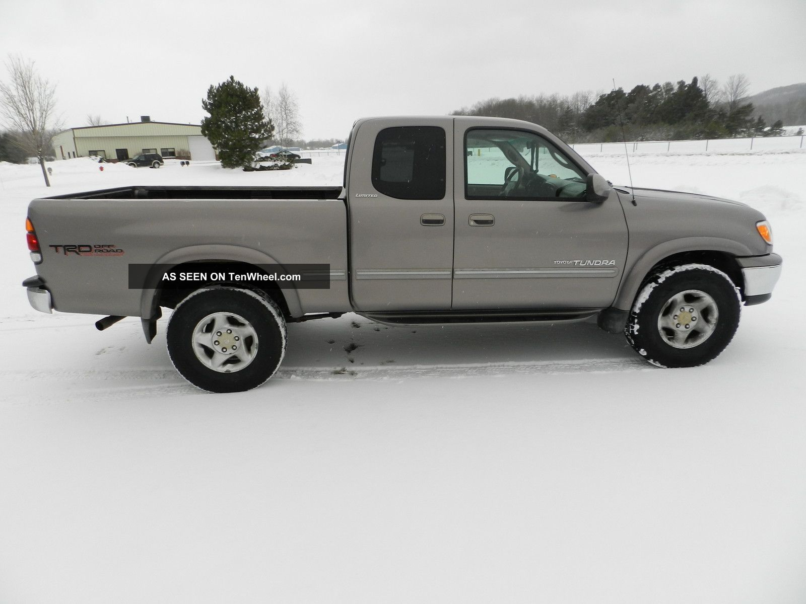 2000 toyota tundra limited extended cab pickup 4 door 4 7l automatic trd. Black Bedroom Furniture Sets. Home Design Ideas