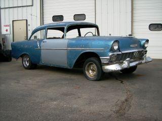 1956 Chevrolet 150 2 Door Sedan & 150 4 Door Sedan 2 Cars photo