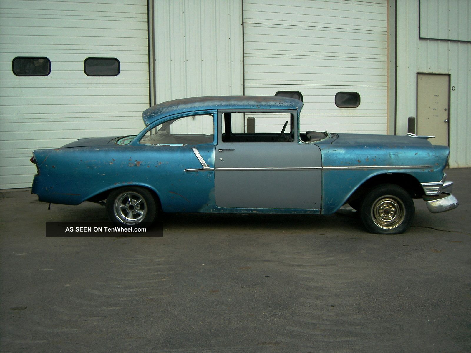 1956 chevrolet 150 2 door sedan 150 4 door sedan 2 cars for 1956 chevy 4 door