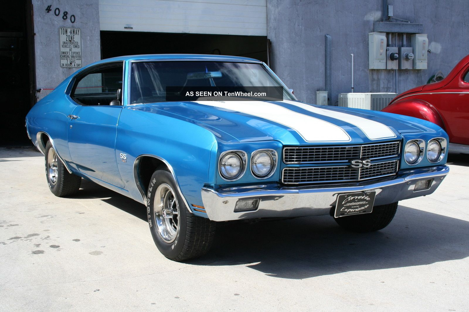 1970 Chevelle Ss 454 Recreation Automatic Power Steering
