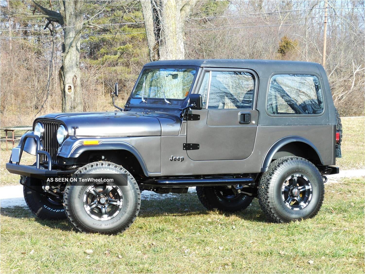 Jeep Cj7 1985 Cj 7
