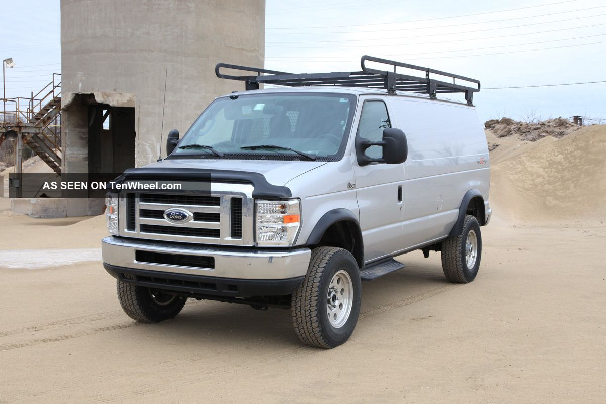 Used Ford E Series Cargo E 350 Van 4x4