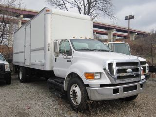 2007 Ford F650 Xl - 24 ' Box Truck With Liftgate photo