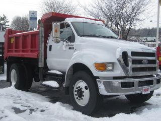 2012 Ford F750 Xlt With 10ft Galion Dump photo