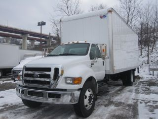 2012 Ford F650 Gas Engine - V10 - 24 ' Aluminum Box Truck With Liftgate photo