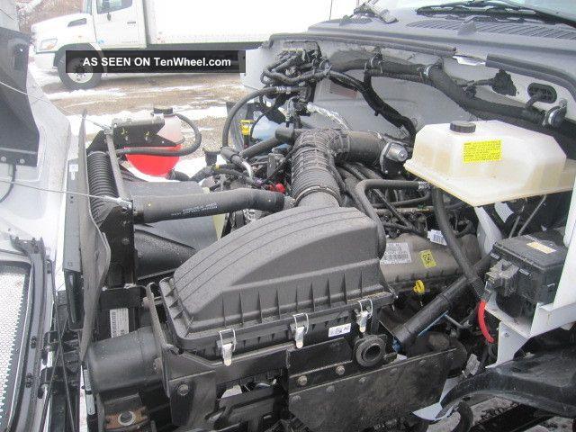 2012 Ford F650 Gas Engine V10 24 39 Aluminum Box Truck