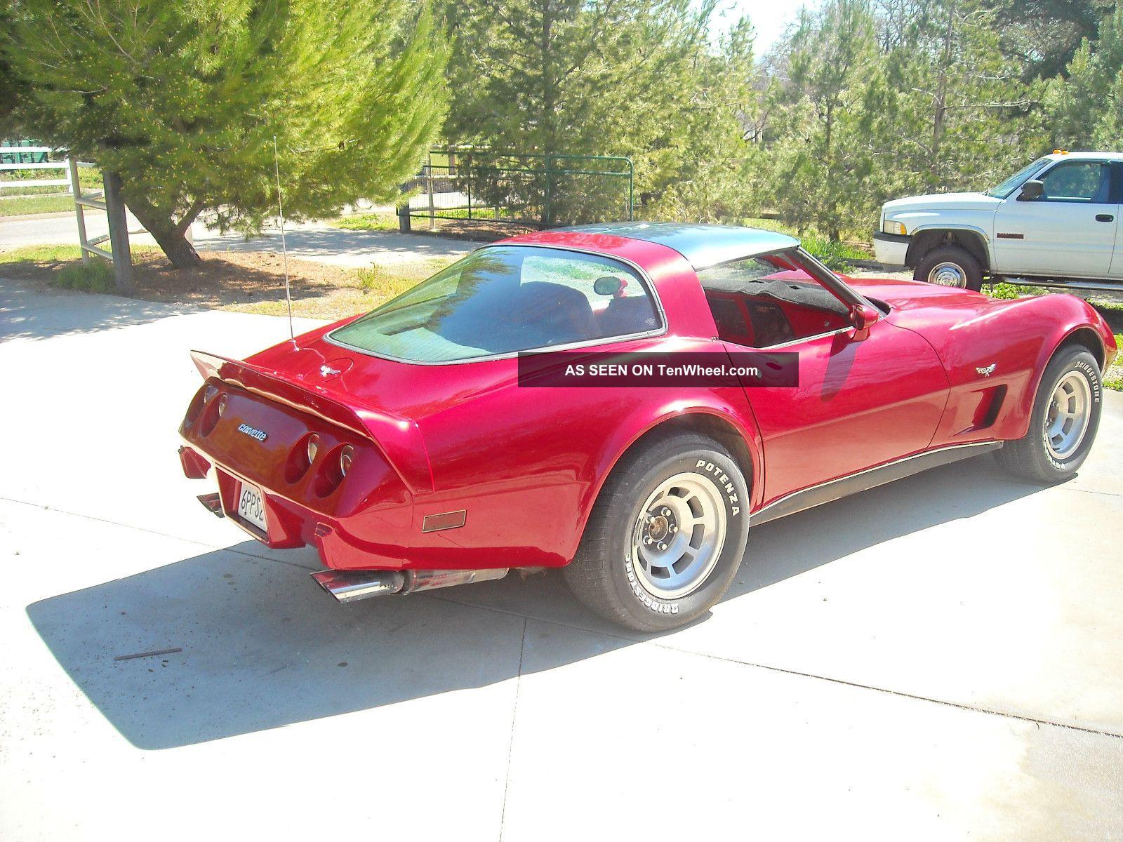 1979 Chevrolet Corvette Base Coupe 2 - Door 5. 7l Corvette photo 4