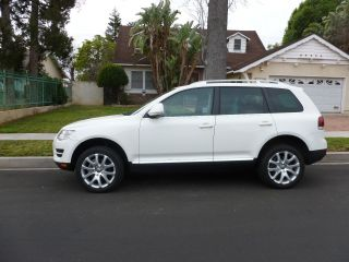 2009 Vw Touareg Tdi With Motor And Turbo Still Under photo