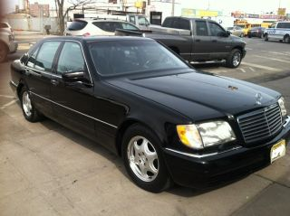 1998 Mercedes S600,  Black Sedan In Exellent Condition photo