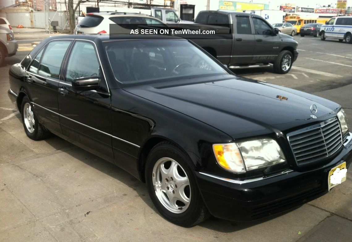 1998 mercedes s600 black sedan in exellent condition for Mercedes benz s600 coupe