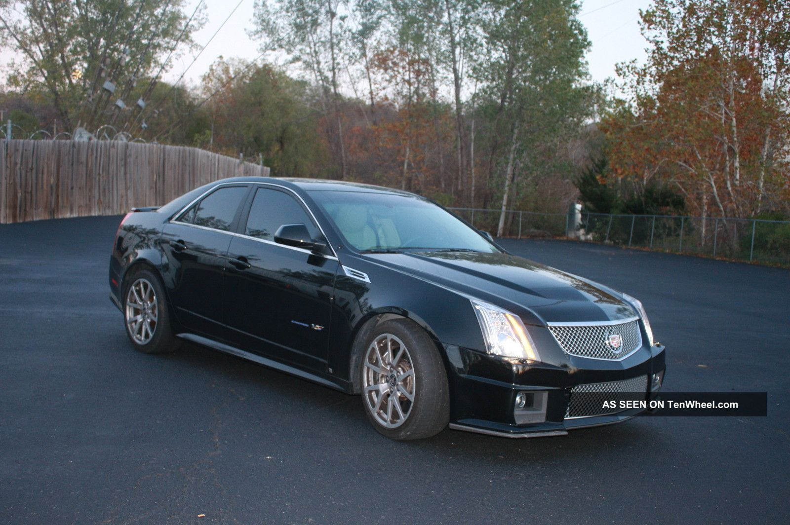2009 cadillac cts v sedan 4 door 6 2l corvette eater. Black Bedroom Furniture Sets. Home Design Ideas