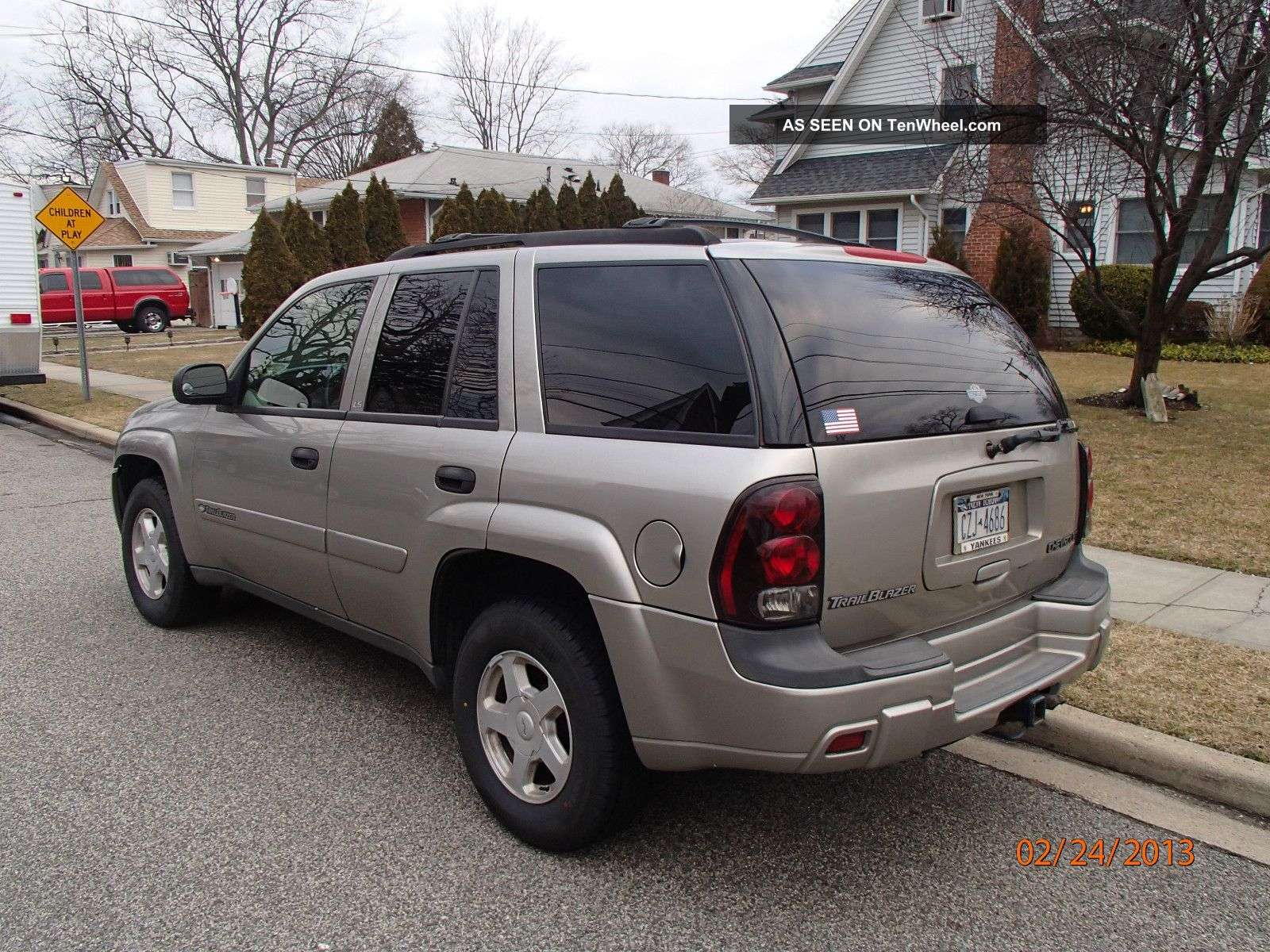 2002 chevrolet trailblazer ls sport utility 4 door 4 2l 4x4. Cars Review. Best American Auto & Cars Review