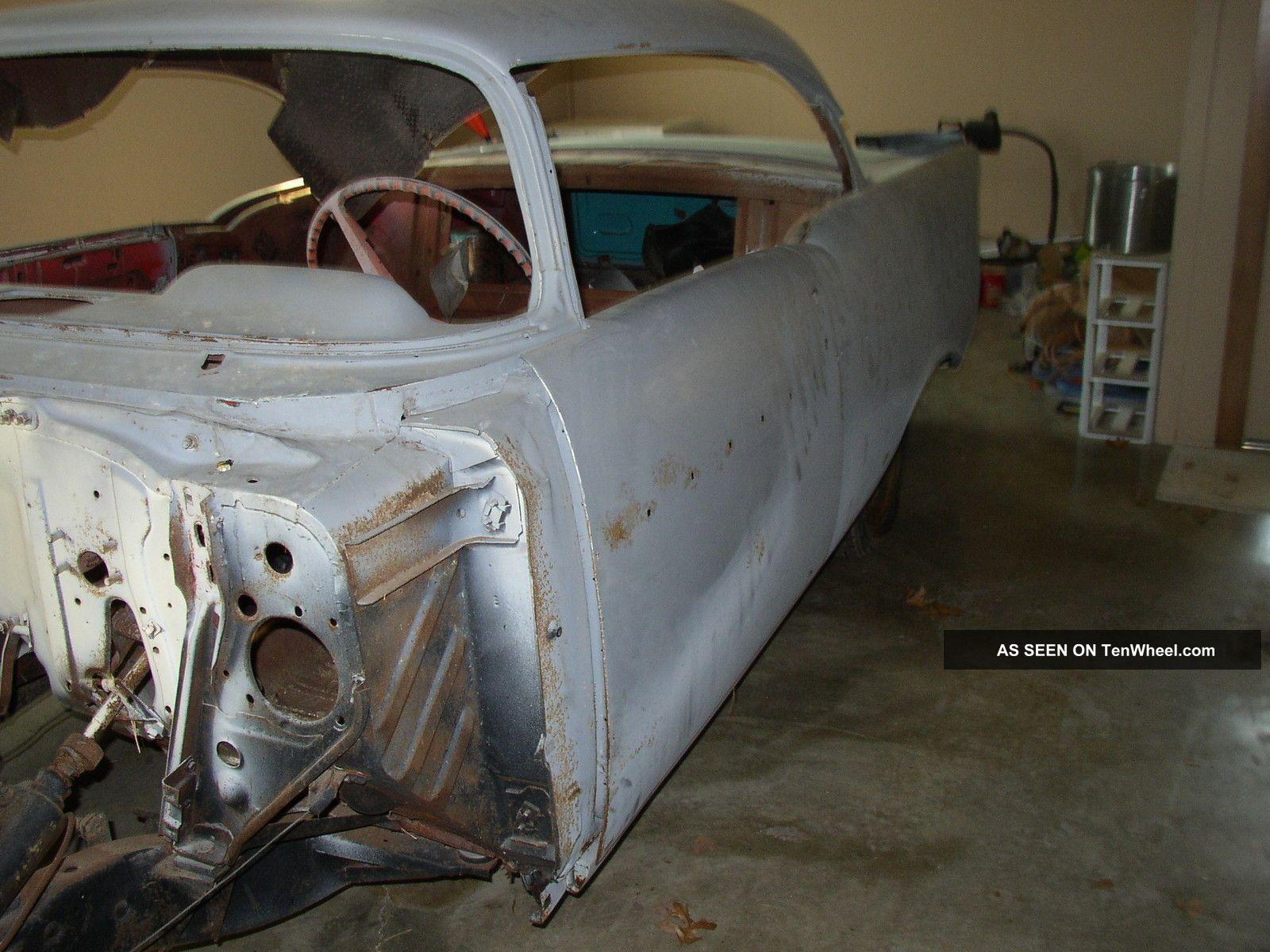 1957 Chevrolet Bel Air 2 Door Hardtop Project Car Bel Air/150/210 photo