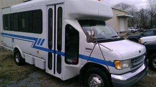 1998 Ford Van W / Aerotech Body.  Wheelchair Lift With Tie Downs. . photo