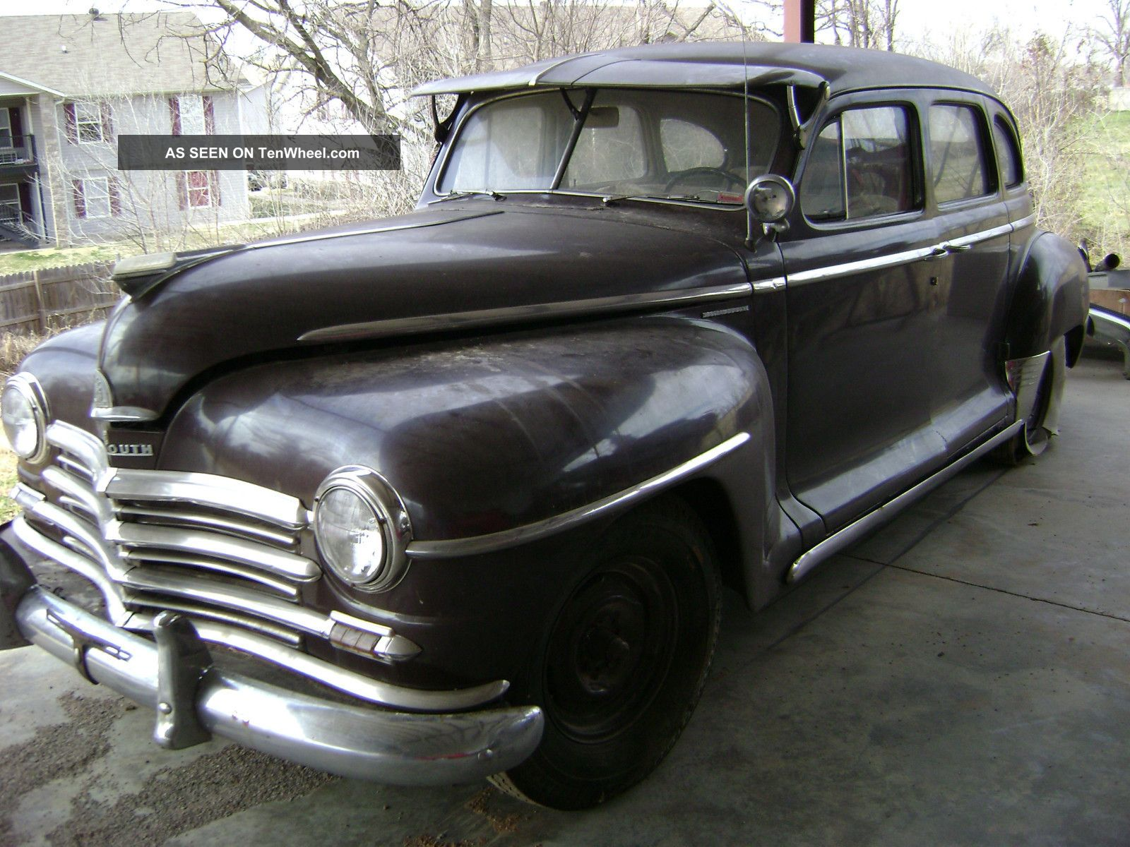 1947 plymouth sedan with suicide doors for 1947 plymouth 4 door sedan