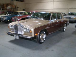 1978 Two Owner Rolls Royce Silver Shadow That Looks As Good As She Drives. photo