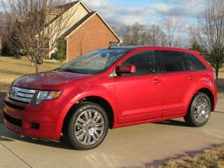 2010 Ford Edge Sport Sport Utility 4 - Door 3.  5l photo