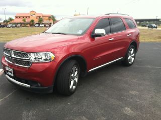 2011 Dodge Durango Awd Citadel V8 photo