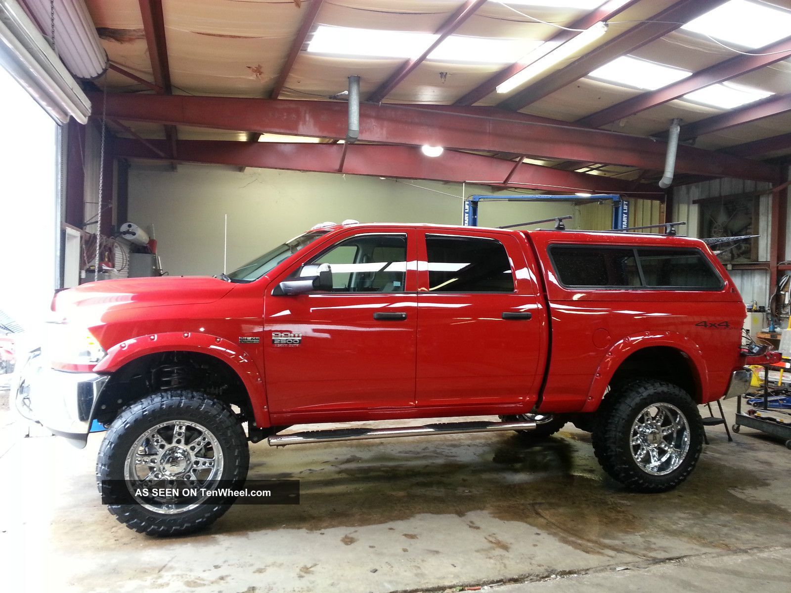 Red Dodge Ram Lifted Latest Single Cab Flame Wiring Diagram 2012 Express Amazing With
