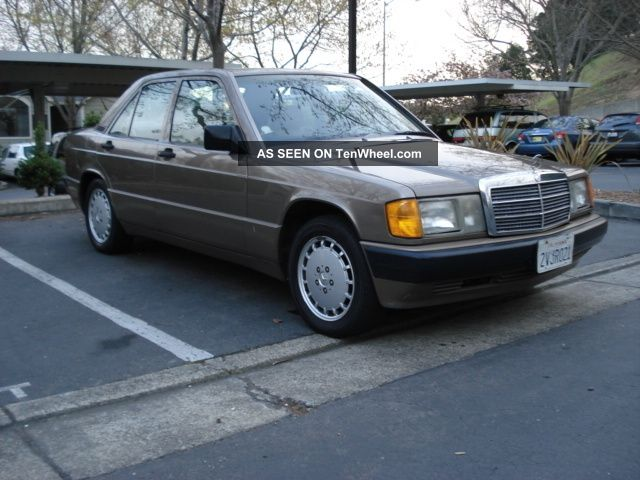 1991 mercedes benz 190e 2 6 sedan 4 door 2 6l for 1991 mercedes benz 190e