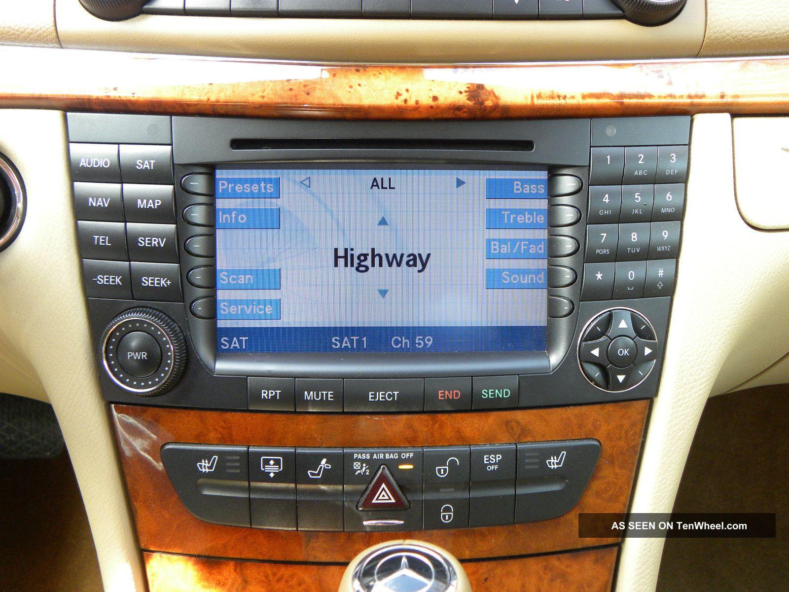 2008 mercedes benz e320 bluetec sedan 4 door 3 0l for Tele aid mercedes benz