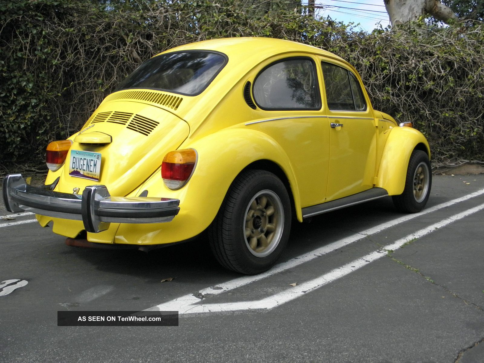 1974 vw beetle 2300cc a c 4w disc barkes. Black Bedroom Furniture Sets. Home Design Ideas