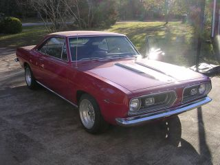 1967 Plymouth Barracuda Notchback & Paperwork photo
