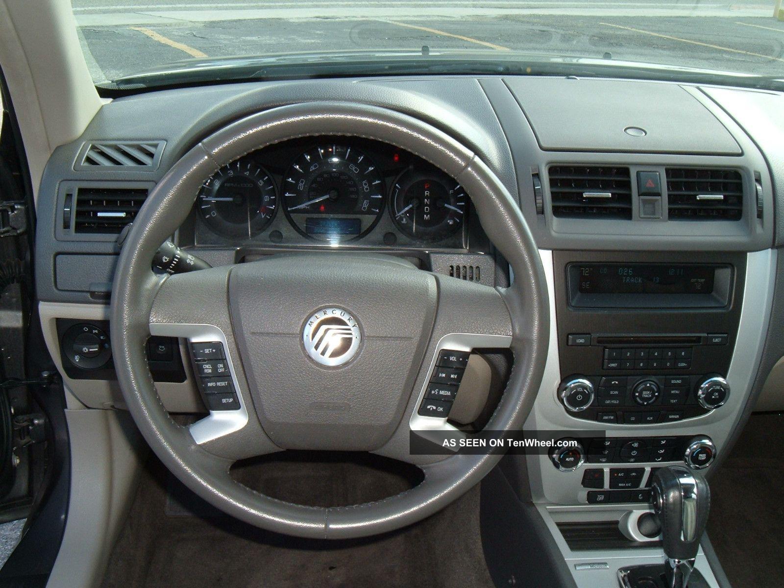 2011 Mercury Milan Premier Sedan 4 Door 3 0l