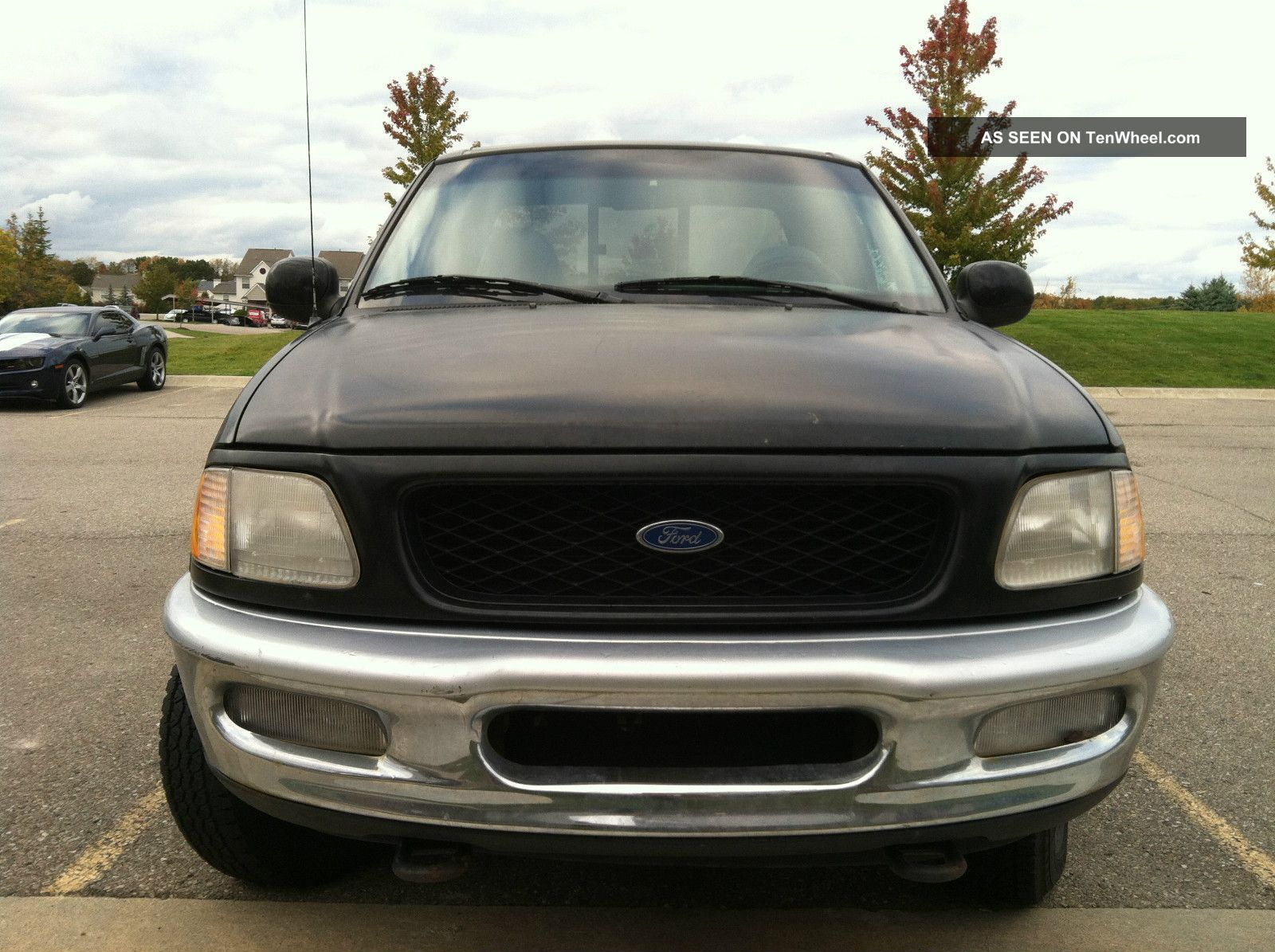 1997 ford f150 xlt supercab 4x4 not pretty runs like a champ. Black Bedroom Furniture Sets. Home Design Ideas