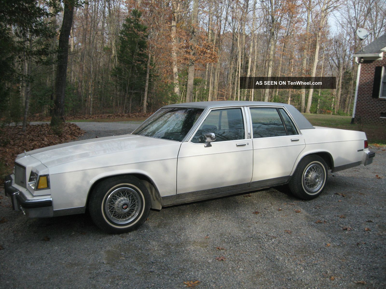 1983 Buick Lesabre Limited Sedan 4 - Door 5.  0l LeSabre photo