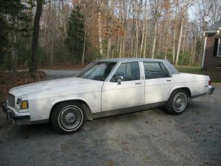 1983 Buick Lesabre Limited Sedan 4 - Door 5.  0l photo
