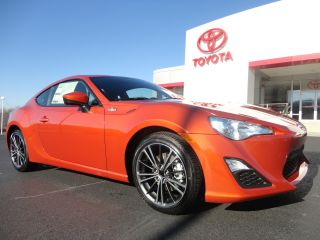 2013 Scion Fr - S 6 - Speed Manual Hot Lava Paint Just Arrived Stick photo